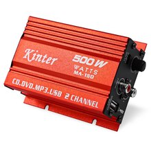 Kentige MA-150 Mini Amplifier 500W 5V Hi-Fi Stereo Digital Power Amplifier MP3 Car Audio Speaker Low Distortion Loudspeaker