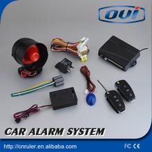 i set car security hot selling one way vehicle alarm with electric/pneumatic converting function