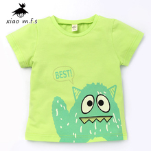 2017 Kids Active All-Match Boys Girls T-shirts Childrens Tops Bobo Choses Clothes Teenage Cotton Clothing 3T MFS-L8011