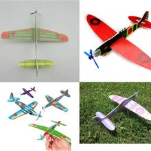 High Quality 12Pcs New Fantastic Flying Glider Planes Aeroplane Party Bag Fillers Childrens Kids Toys Gift Model