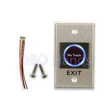New Design Infrared no touch exit push button for access control system door exit button switch emergent exit button/push