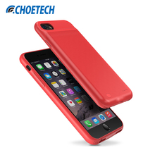 CHOETECH Battery Charger Case For iPhone 8 Plus 7 Plus 5.5 inch 3300mAh Power Bank Charging Case for iPhone 6 Plus 6S Plus(China)