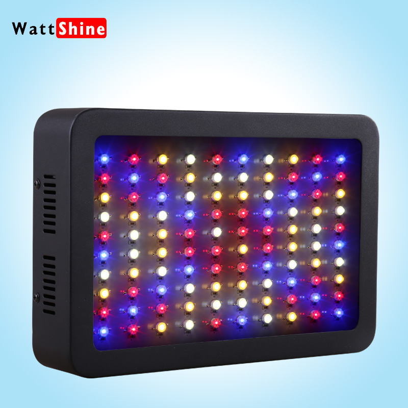 Newest 300w Led Grow Light 100*3W plant growing lamps for indoor horticulture flower lighting and hydroponic systems, grow box<br><br>Aliexpress