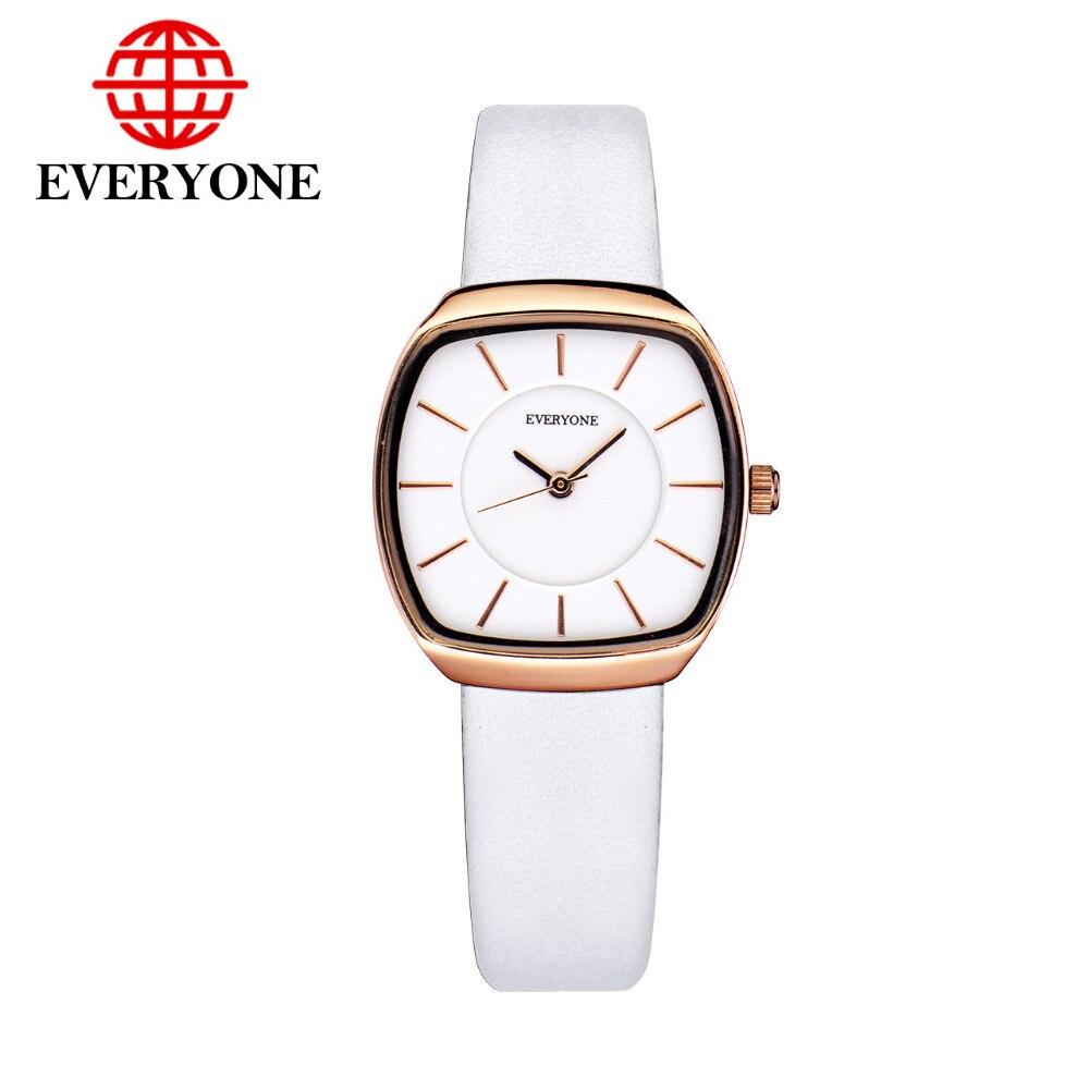 2017 Hot Womens Casual Wristwatch Women Leather Band Tonneau Wrist Watches Fashion Business Casual  Quartz Watch<br>