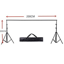DHL Or EMS 2X 2M(6.5ft*6.5ft) Photo Background Support System Stands Adjustable Backdrop Photograpy backgrounds for photo studio(China)