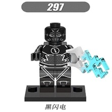 XH 297 Building Blocks Super Heroes Single Sale Black Flash Reverse-Flash Cosmic Boy Iron Man Bricks Collection Kids Gift Toys - Minifigures store