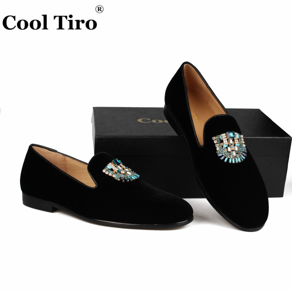 VELVET Loafers SLIPPERS with Crystal brooch (9)