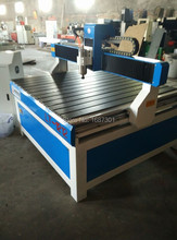 1212 cheap wood lathe machine , advertising cnc router(China)