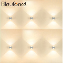 Wall Light LED Aluminum Wall Lamp Outdoor  IP65 Bedroom Living room Aisle Corridor Fence Villa wall wall outdoor lighting H01