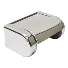GSFY-Polished Chrome Stainless Steel Bathroom Toilet Paper Tissue Box Holder New(China)