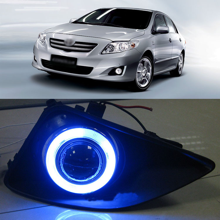 Details about  Innovative Super COB Fog Light Angel Eye Bumper Projector for Toyota Corolla<br><br>Aliexpress