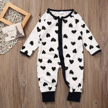 Newborn rompers Fashion bebe Baby boys Girls Rompers branded Newborn baby clothes jumpsuit Doll Rose long Sleeve Zipper