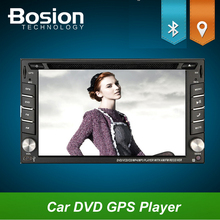 "GPS Navigation+Free Map 6.2"" Double 2 Din Car DVD Player In Dash Stereo Radio BT Digital T Bluetooth Video MP3 SD Car Electronic(China)"