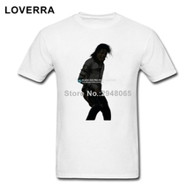 Michael Jackson Male T-Shirts Summer Best Tees Shirts Man Cotton Jersey Short Sleeve TShirt Plus Size Crew Neck Brand Clothing(China)