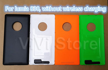100%OEM New Housing for Nokia lumia 830, Battery Cover Case for Nokia 830 Back Cover without wireless charging