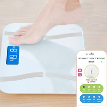 Bluetooth 4.0 APP Electronic Body Scale LCD Display Smart Digital Scale Multi-functional Bathroom Scales Accurate Measurement