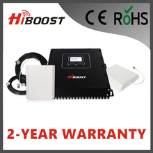 Hiboost Newest LCD 20dBm Triple Band 2G 3G 4G GSM900 DCS1800 and WCDMA2100 Telecom Repeater  Hi20-EDW