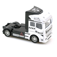 free shipping 1:32 truck car model Heavy tractor alloy metal diecast Trailer baby toys SAIC Iveco Hongyan IVECO Christmas gifts