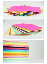100 x A4 COLOURED PASTEL PAPER ASSORTED COLOURS ARTS CRAFTS CARD MAKING NEW(China)