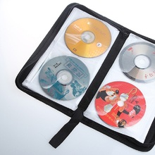 High Quality  CD VCD DVD 80 Discs Storage Holder Cover Carry Case Bag Orananizer 420