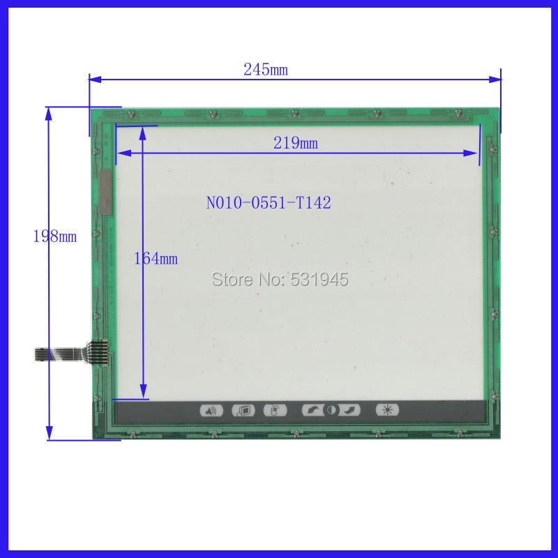 ZhiYuSun NEW N010-0551-T142  245mm*198mm 10.1Inch Touch Screen panels verlay kit Free Shipping  245*198<br>