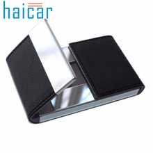 Haicar organizer Credit Card Package Card Holder Double Open Business Card Case Storage Box Quality First DROP SHIP