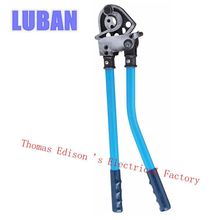 JXO-400 Ratchet Cable cutter European style Cutting range:300mm2 max cutter plier tool