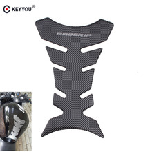 KEYYOU New Universal Fishbone Carbon Fiber 3D Motorcycle Gas Oil Fuel Tank Pad Protector Decal Sticker For Suzuki Honda Harley