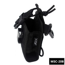 XQF MSC-20B Portable Radio Case Holder Holster for Kenwood Icom Motorola BaoFeng UV-5R UV-82 B5 UV-5RE Plus GT-3 Walkie Talkie(China)