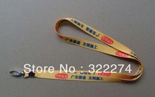 free shipping Wholesale  custom Neck Strap lanyard key/Cell Phone strap Badge ID Pass Card phone lanyard neck