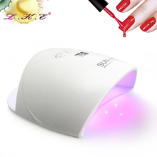 48W Nail Dryer CCFL LED UV Lamp Light for Curing Nail Gel Polish Automatic Sensor Timer Manicure Nail Lamp For Nails Art Tools(China)