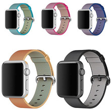 Woven Nylon strap band for apple watch band 42 mm 38 mm sport bracelet & 20mm/22mm fabric nylon watchband watch Accessories