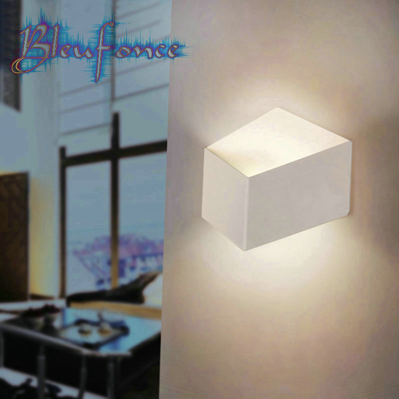 3W Cool White LED Wall Lamps Creative Geometry Wall Lamp Lighting Bedside Lights Living Room Bedroom Hallway Light Surface Mount<br><br>Aliexpress