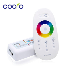 DC12-24A 18A 2.4G Wireless Touch Screen RGBW LED Controller RF remote control for RGB/RGBW led strip/bulb/downlight
