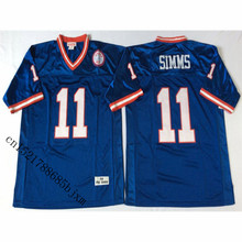 Mens 1986 Retro Phil Simms Stitched Name&Number Throwback Football Jersey Size M-3XL(China)