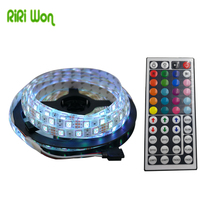 Buy RiRi won 5M 10M SMD RGB LED strip 5050 SMD Waterproof led light led tape diode ribbon 60leds/M DC 12V flexible 44k controller for $7.09 in AliExpress store