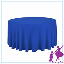 15pcs Cheap Price Christmas Tablecloth Use/Round table cloth for weddings Ready