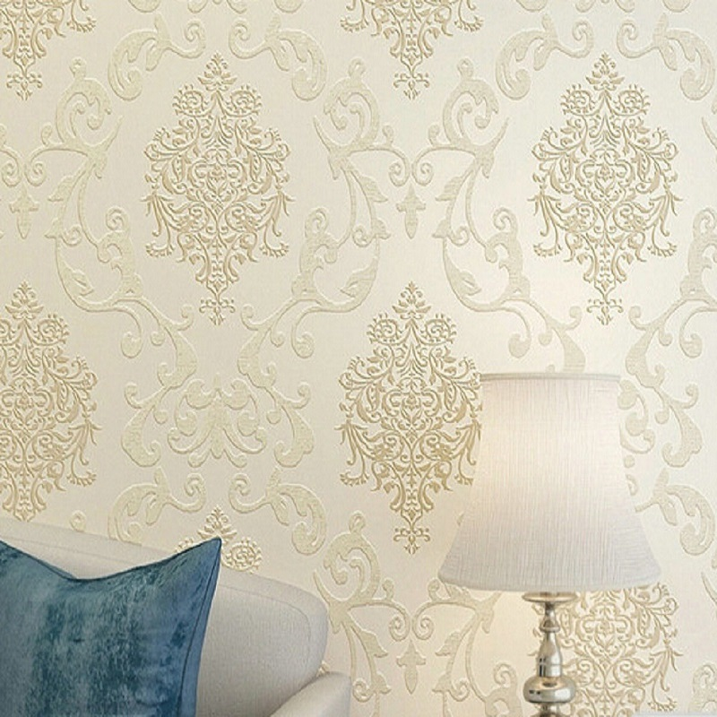 Self adhesive wallpaper Popular European Damask style wallpapers Home Decor film wall paper DIY wallpaper 0.53 * 5 meter<br><br>Aliexpress
