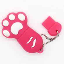 Cat Paw USB Flash Drive 32GB pendrive 64GB Cartoon Key Chain USB Stick 16GB  pen drive 8GB 4GB Flash Drive Disk 1GB 2GB Gift