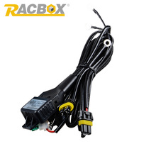 12V 35W HID Bixenon H4 Wiring Harness Controller for Car Auto Headlight Retrofit Connector Mini Projector Lens Line Car Styling