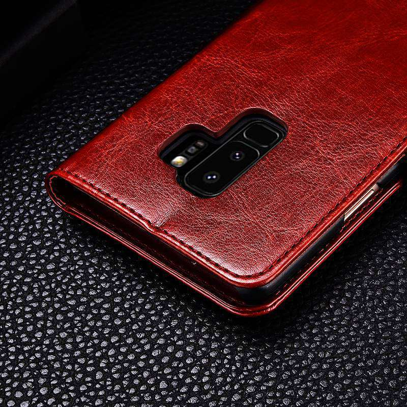 S9 S9+ Luxury Flip Leather Case For Samsung Galaxy S9 S9 Plus Wallet Card Pocket Coque Cover For Samsung S9 S9 Plus Case Fundas (16)