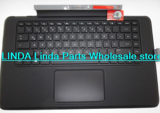 Laptop Keyboard base for HP For ENVY X2 13-j000 Romania RO 796692-271 KBBTA2811 gray with backlight and TouchPad<br><br>Aliexpress