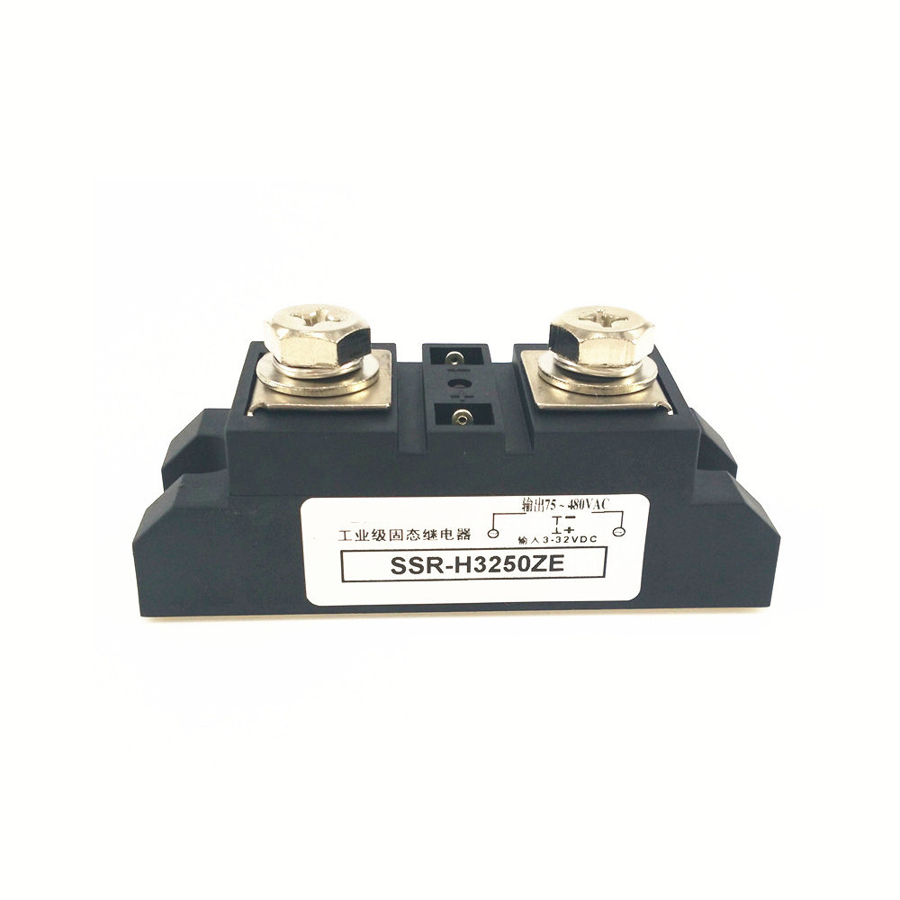 Industrial Solid State Relays 250A High Current Load Voltage 40-480V AC SSR-H3250ZE<br>