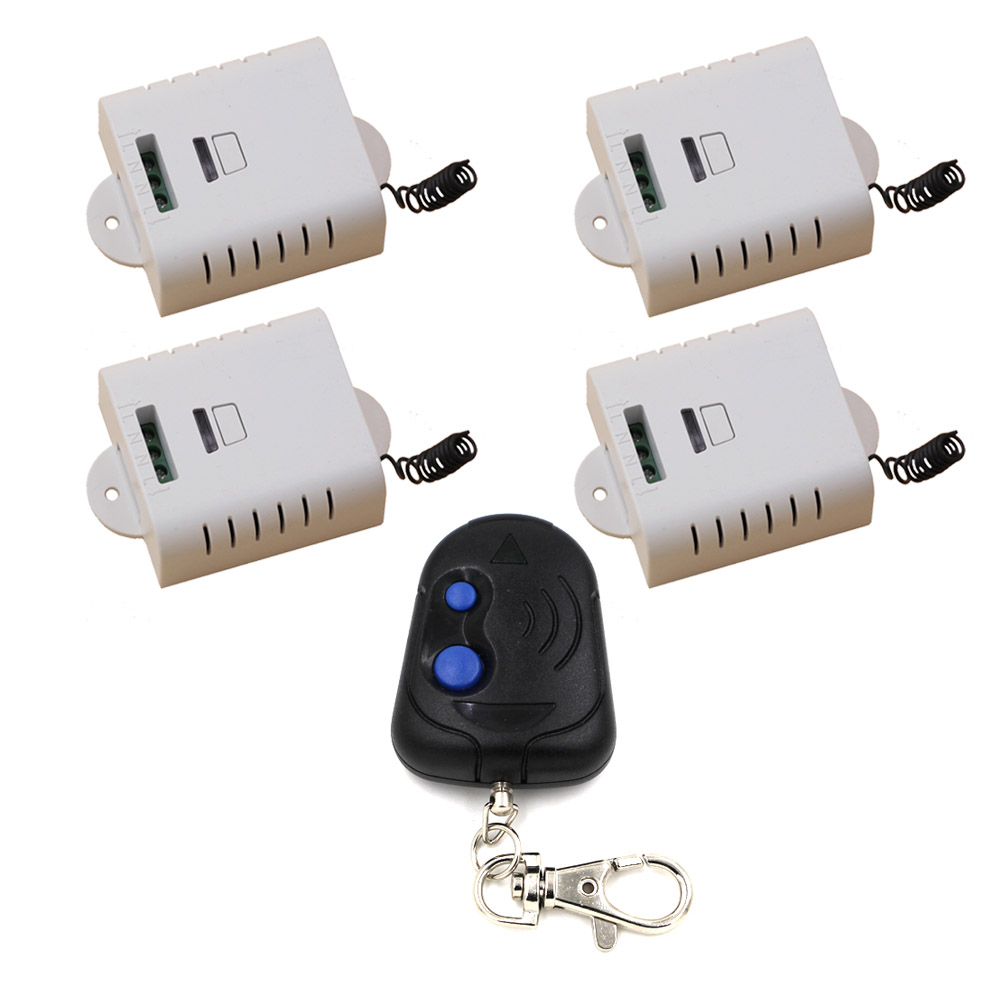 AC 85v 110v 120v 220v RF wireless remote switch remote controller Teleswitch Receiver Transmitter 315Mhz/433Mhz<br>