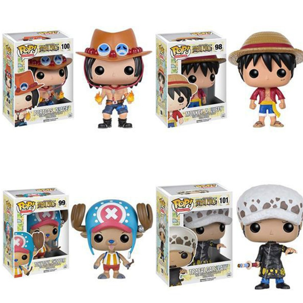Funko POP One Piece Mini Anime Luffy Ace Law Chopper Vinyl PVC Collection Action Figure PVC Model Toys For Kids<br><br>Aliexpress