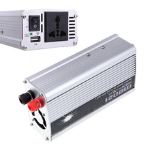 1200W Inverter Converter USB Charger 24V DC to AC 220V Modified Sine Wave Adapter 50HZ Car Auto Power supply