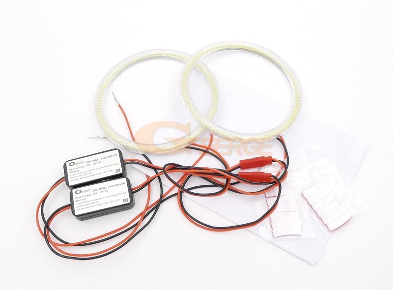 cob led angel eyes kit halo rings 2x100mm(0)