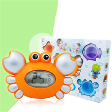 Multi-function Water temperature gauge baby cartoon newborn bath toy electronic thermometer Classical Toy High Quality(China)