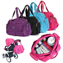 Large Baby Changing Bag Infant Mummy Diaper Nappy Shoulder Handbag 5 in 1(China)
