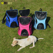 Portable Outdoor Breathable Mesh Pet Dog Cat Carrier Bags Shoulder Backpack Bag Travel Carriers Bags For Small Dogs Cat Puppy